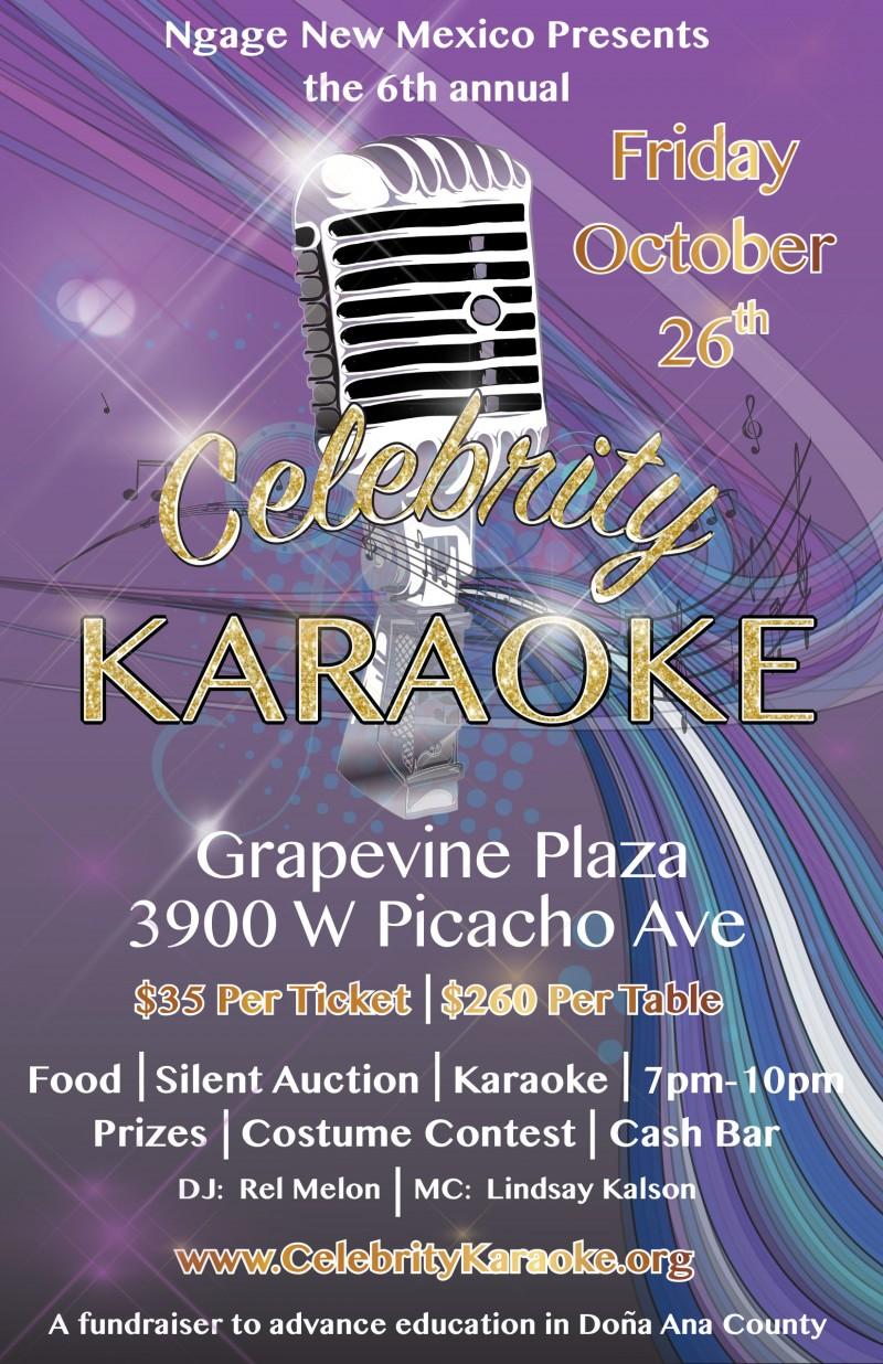 6th Annual Celebrity Karaoke